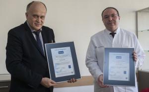 """УМБАЛ """"Aлександровска"""" получи сертификат ISO 9001:2008 за качество на медицинските услуги"""