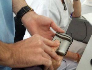 Пръстов отпечатък в болница – само с чисти ръце
