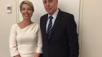 Министър Николай Петров проведе двустранна среща с министъра на здравеопазването и социалните дела на Швеция